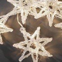 Konstsmide LED Sternen-Lichtervorhang 5er warmweiß (4433-103)