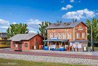 Kibri Bahnhof Rauenstein mit Güterschuppen (37396)