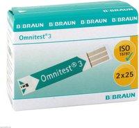 1001 Artikel Medical Omnitest 3 Teststreifen (2 x 25 Stk.)