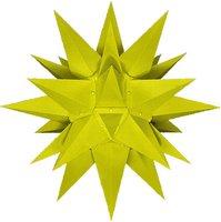 Herrnhuter Sterne Stern Innenbereich gelb (40 cm)