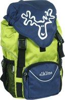 Elkline Tragichselbst Kinderrucksack limegreen-navy