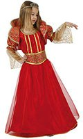 Atosa Verkleidung Königin Rot