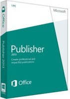 Microsoft Publisher 2013 PKC (Win) (EN)