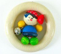 Hess Spielzeug Rassel Pirat