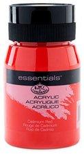 Royal & Langnickel Essentials Acrylfarbe 500 ml kadmiumrot