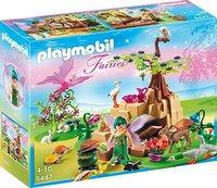 Playmobil Fairies - Zaubertrankfee Elixia im Tierwäldchen (5447)