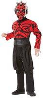 Rubies Kinderkostüm Star Wars Darth Maul Oberkörper rot