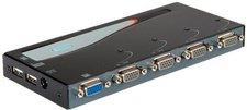 Secomp KVM Switch Desktop, VGA, USB & PS/2, 1 User ? 4 PCs (14.99.3277)