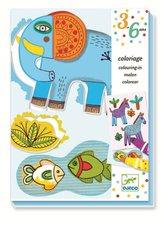 Djeco Kolorierung für die Kleinsten - Tierisches
