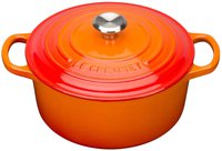 Le Creuset Tradition Bräter 10 cm rund ofenrot