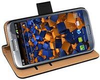 Mumbi Ledertasche Bookstyle für Samsung Galaxy Note 2