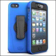 iSkin Revo 360° blau (iPhone 5)
