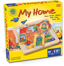 Huch & Friends My Home Holzpuzzle