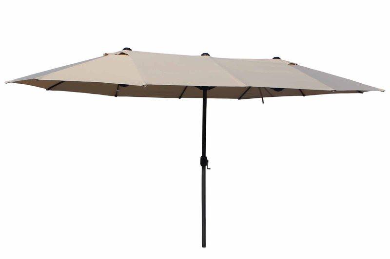 leco oval schirm 270 x 460 cm preisvergleich ab 129 90. Black Bedroom Furniture Sets. Home Design Ideas
