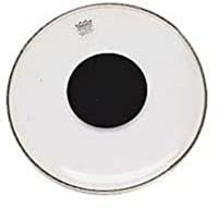 """Remo Clear Controlled Sound Black Dot 6 """""""