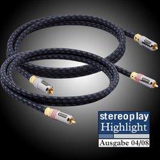 Goldkabel Highline Cinch Stereo