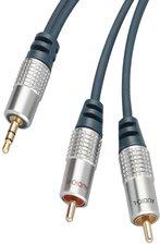 shiverpeaks 30832-10SPP Professional 3,5mm Y-Kabel (10m)