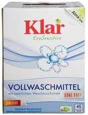AlmaWin Klar Vollwaschmittel Pulver (2,475 kg)