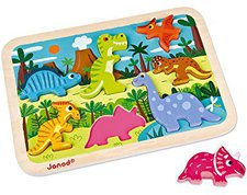 Janod Puzzle Dinosaurier