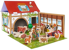 Heros Bauernhof Spielset mit 12 Figuren