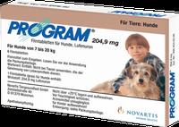 Novartis Program 204,9 mg vet. H 7-20 Filmtabletten (6 Stk.)