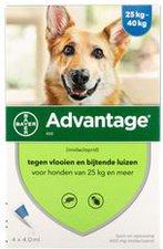 Bayer Advantage 400 f. Hunde Einzeldosispipetten (1 x 4 Stk.)