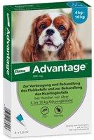 Bayer Advantage 100 f. Hunde Einzeldosispipetten (4 Stk.)
