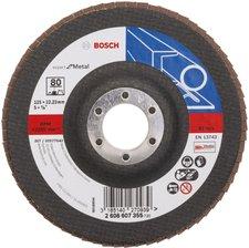 Bosch Blue Metal Ø 125 mm Korn 80, gerade, Glasgewebe (2 608 607 355)