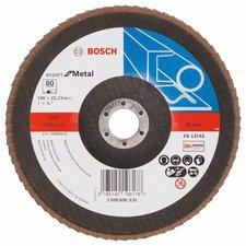 Bosch Blue Metal Ø 180 mm Korn 80, gewinkelt, Glasgewebe (2 608 606 938)