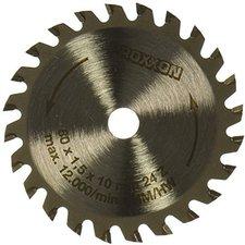 Proxxon Kreissägeblatt HM-bestückt 80 mm 24 Zähne (28734)