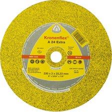 Klingspor Trennscheibe A 24 Extra: Durchmesser 230 mm: VPE: 25