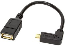 BIGtec OTG Datenkabel micro-USB auf USB-Buchse