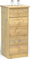 Steens Furniture Ltd Mario 005/30 Kommode gelaugt geölt 5 Schubladen
