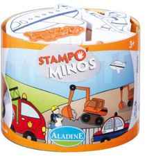AladinE Stampominos Fahrzeuge (85112)