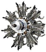 Horizon Hobby Evolution Radial 4-Takt Glühzünder Verbrenner 7 Zylinder 35cc (EVOE735)