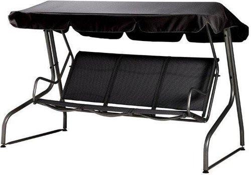 bukatchi monte carlo hollywoodschaukel 3 sitzer preisvergleich ab 299. Black Bedroom Furniture Sets. Home Design Ideas