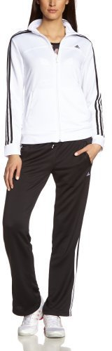 Adidas Frauen essentials 3-Stripes Trainingsanzug
