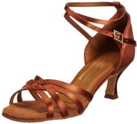 International Dance Shoes Melissa Tan Satin