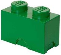 LEGO Aufbewahrungs-Box 1 x 2 (grün)