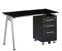 Bürostuhl24 NERO Computertisch