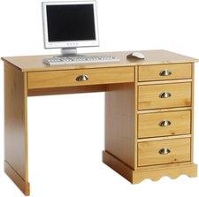 Idimex Colette Massivholz-Schreibtisch
