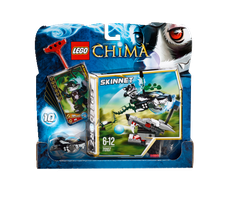 LEGO Legends of Chima - Stinktierattacke (70107)