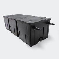 Wiltec Teichfilter-Set CBF-350B, 90000 Liter, 24W UVC (54962)