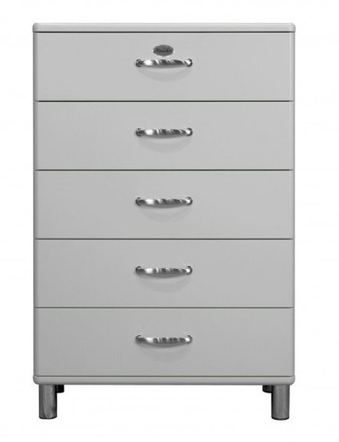 Tenzo Malibu Kommode 5 Schubladen Grau 5295 Gunstig Kaufen
