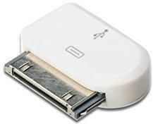 Assmann Digitus Micro USB auf 30-Pin Dock Connector weiß