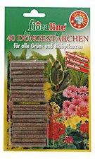 floraline Düngestäbchen für alle Grün- und Blühpflanzen (40 Stück)