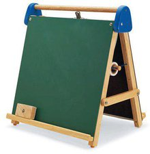 Pintoy Tabletop Magnetic Easel and Chalkboard (6005513)