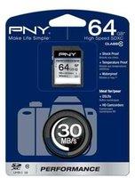 PNY SDXC Performance 64GB Class 10 UHS-I (SD64G10PER-EF)