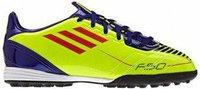 Adidas F10 TRX TF J electricity/infrared/anodized sharp purple