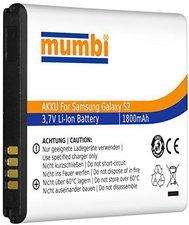 Mumbi Ersatz-Akku Samsung Galaxy S2 i9100 / Galaxy S2 Plus i9105P